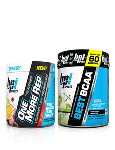 BPI 4주 근력+파워 세트  One More Rep + Best BCAA